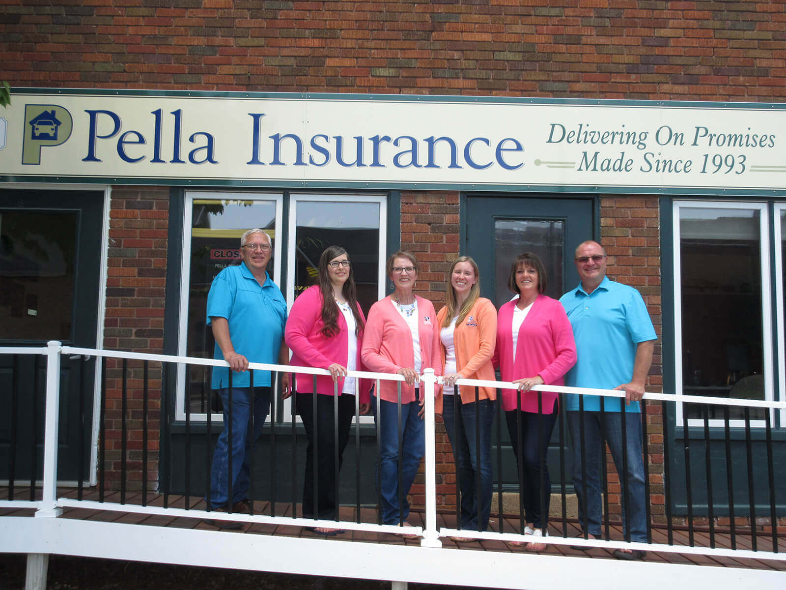 Pella Insurance Agency For Property And Casulty Insurance